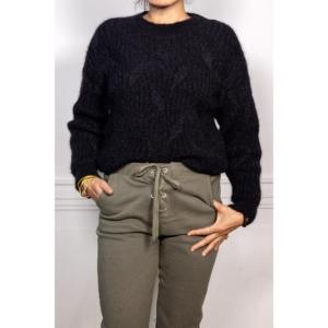 Maison Anje Lafayetta Knit Pull (Black)