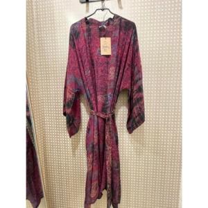 Cofur Kimono Long (Pink Tones)