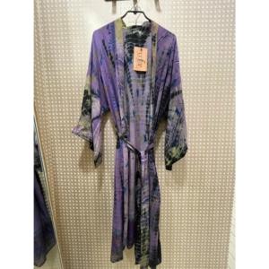 Cofur Kimono Long (Purple Tones)