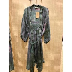 Cofur Kimono Long (Turquoois Tones)