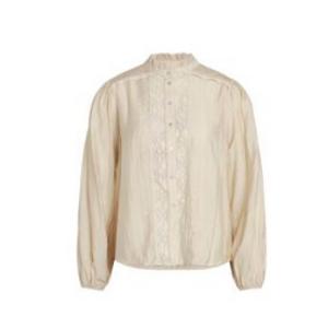co'couture Lisissa Lace Shirt (Bone)